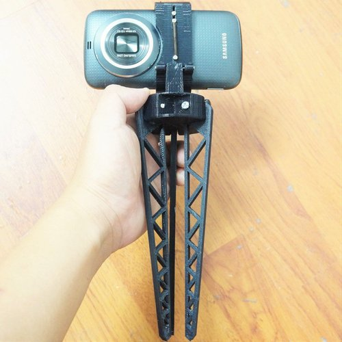 Tripod for Smartphone - For Galaxy K Zoom 3D Print 37266