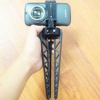 Small Tripod for Smartphone - For Galaxy K Zoom 3D Printing 37266