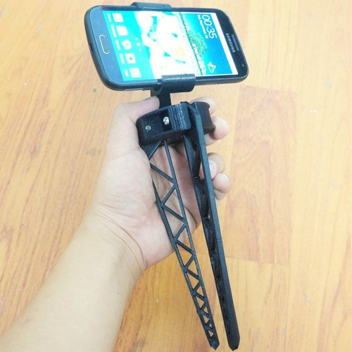 Tripod for Smartphone - For Galaxy K Zoom 3D Print 37267