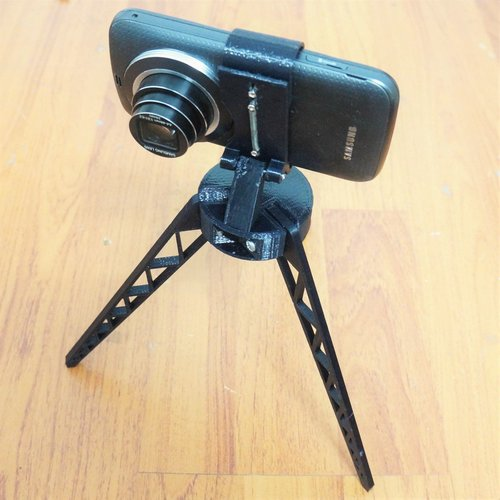 Tripod for Smartphone - For Galaxy K Zoom 3D Print 37268