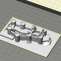 Small Conwy Castle 3D Printing 37392