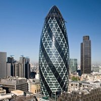 Small The Gherkin 3D Printing 37413