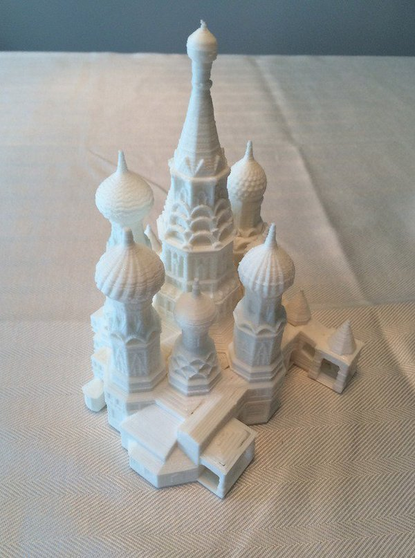 Medium St. Basil's Cathedral 3D Printing 37426