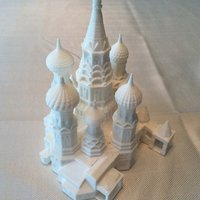Small St. Basil's Cathedral 3D Printing 37426