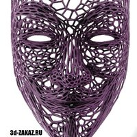 Small Anonymous in stile Voronoi  3D Printing 37650