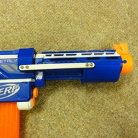 Small Nerf retaliator pump action 3D Printing 37723