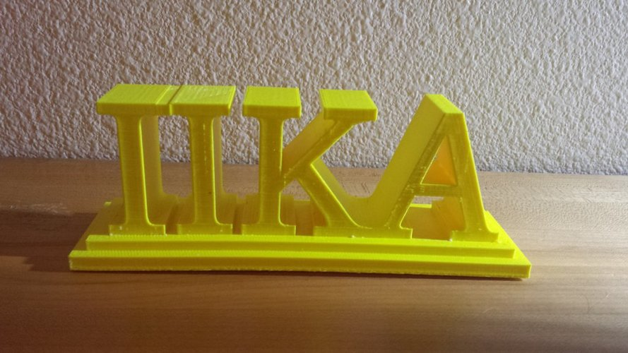 Pi Kappa Alpha desktop sign  3D Print 37771
