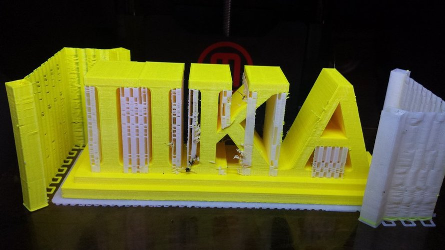 Pi Kappa Alpha desktop sign  3D Print 37772