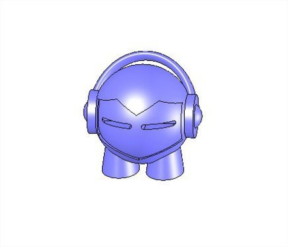 Marvin headphones 3D Print 37781