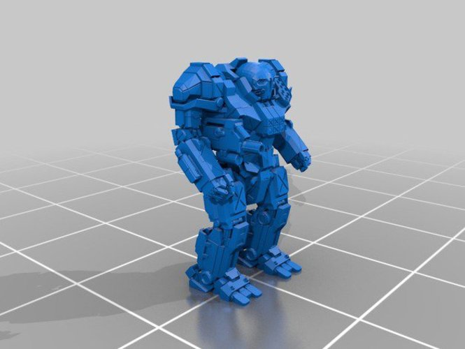 Mechwarrior Atlas 3D Print 37876