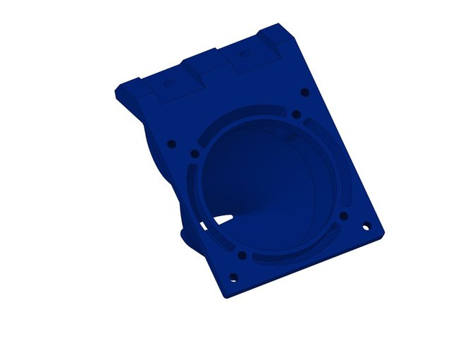 new x-carriage for prusa i2 with fan duct for hot-end E3D_V6 3D Print 37918
