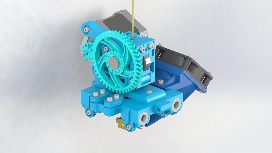 new construction of wade extruder for prusa mendel 3D Print 37932