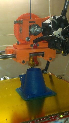 50mm fan holder for prusa mendel i2 3D Print 37946