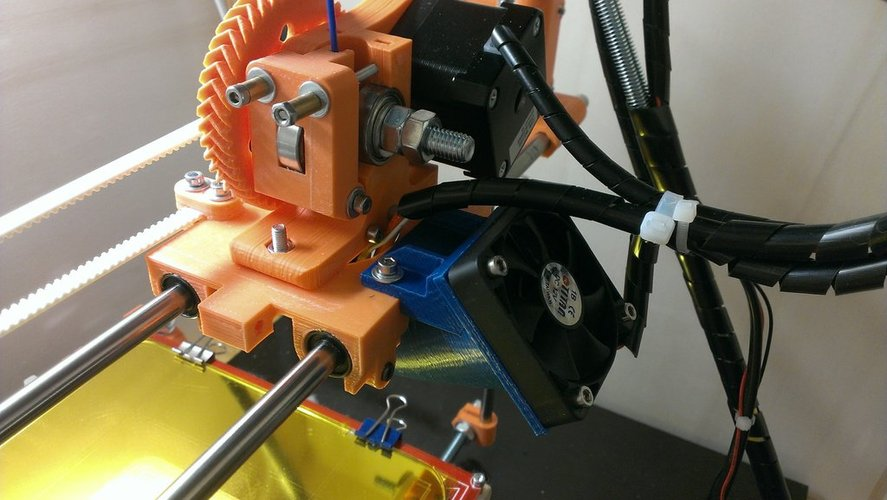 50mm fan holder for prusa mendel i2 3D Print 37951