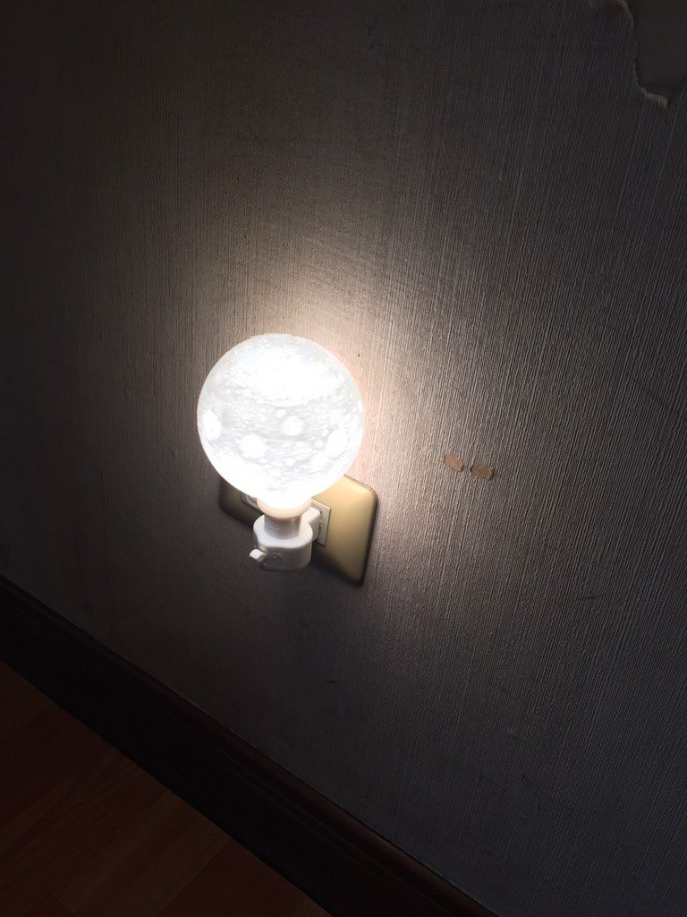 3d printed moon light by pinshape arubaitofo Gallery