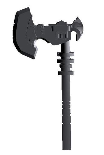 Sion's Axe from League of legends  3D Print 38079