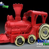 Small Toy Train 3D Printing 38097