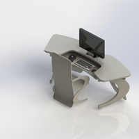 Small Chair 10:1 3D Printing 3821