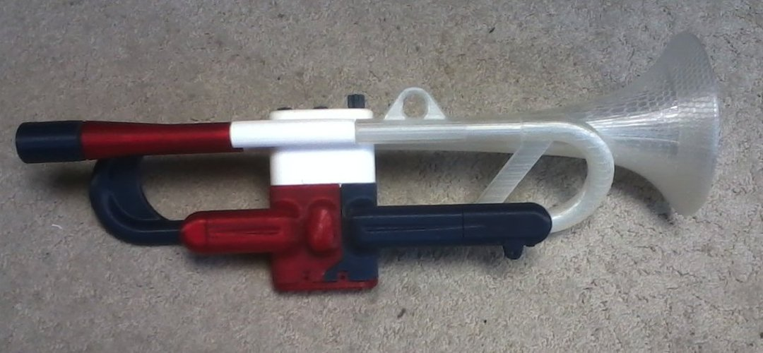 Full Size Working Trumpet 3D Print 38282