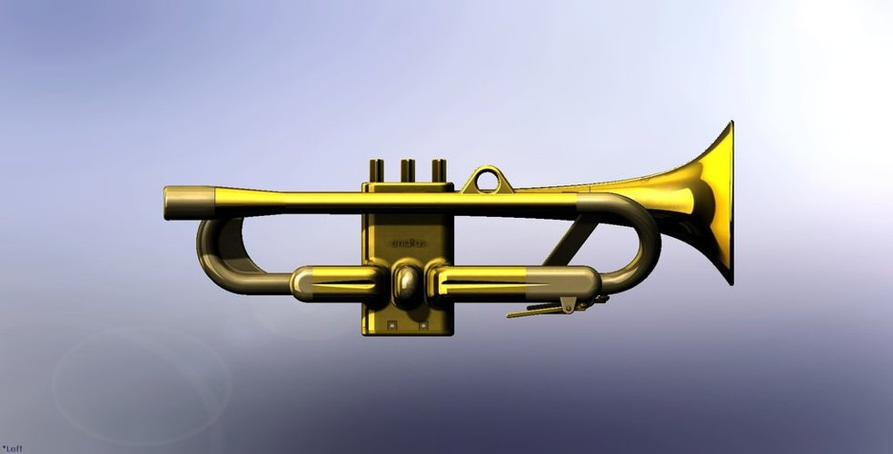 Full Size Working Trumpet 3D Print 38284