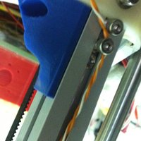 Small kossel Mini (800) Corner Frame Support 3D Printing 38295