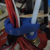 Small wire and pipe clip 3D Printing 38298