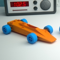 Small Lotus 56B Turbine Formula 1 racing car 3D Printing 383458