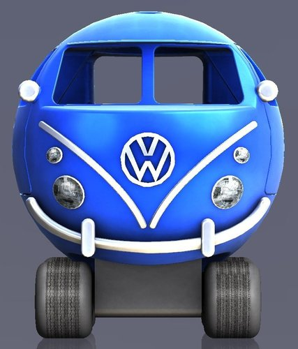 Vw T1 bus toy 3D Print 38354