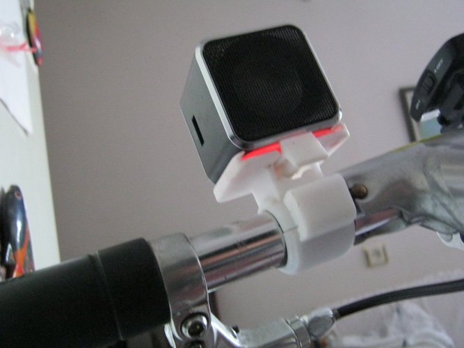 Electronic Device Holder (With Quick Release) for Bikes  3D Print 38360