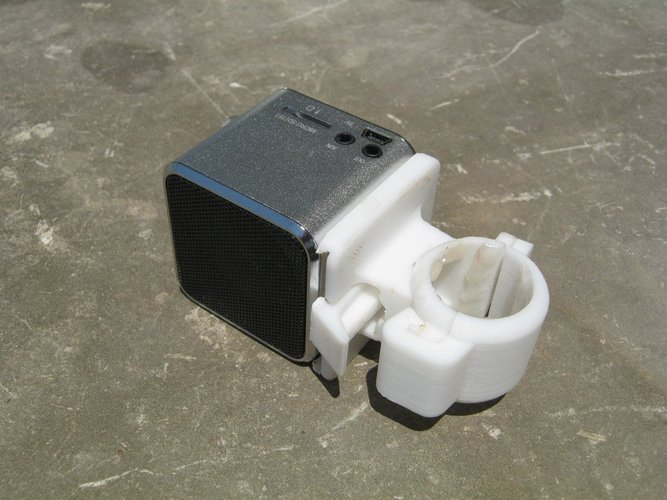 Electronic Device Holder (With Quick Release) for Bikes  3D Print 38361