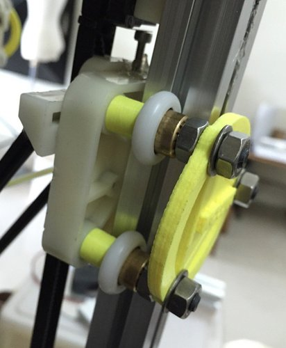 KOSSEL 800 CART BACK SUPPORT 3D Print 38380