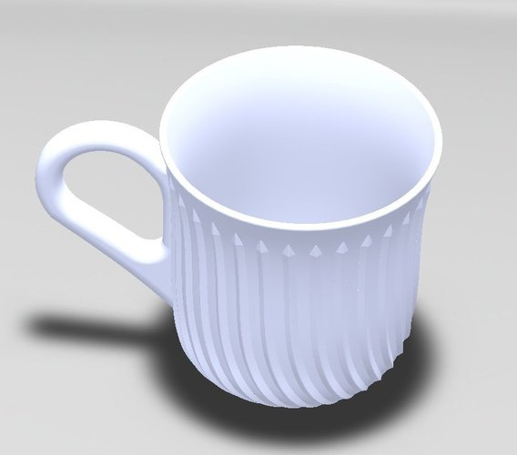 A stylistic cup 3D Print 38434