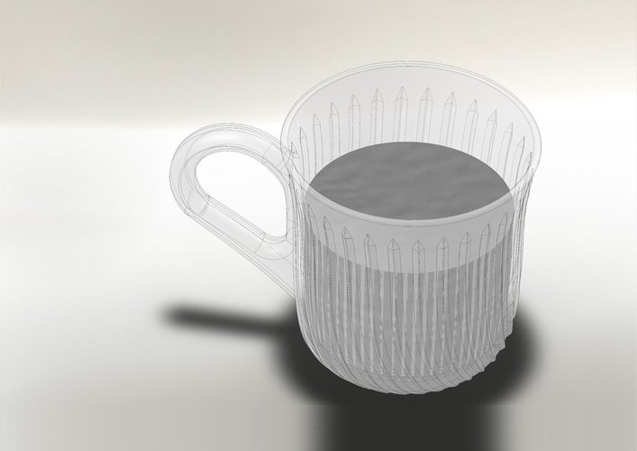 A stylistic cup 3D Print 38435