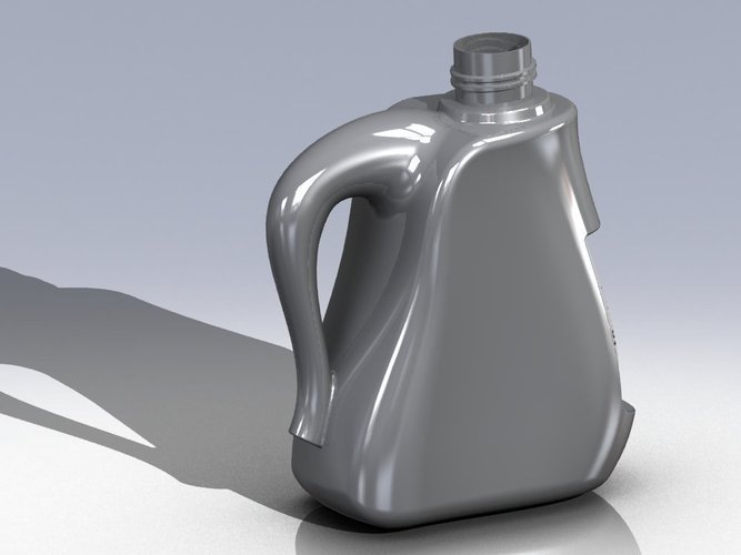 Plastic Jerry Can 3D Print 38451