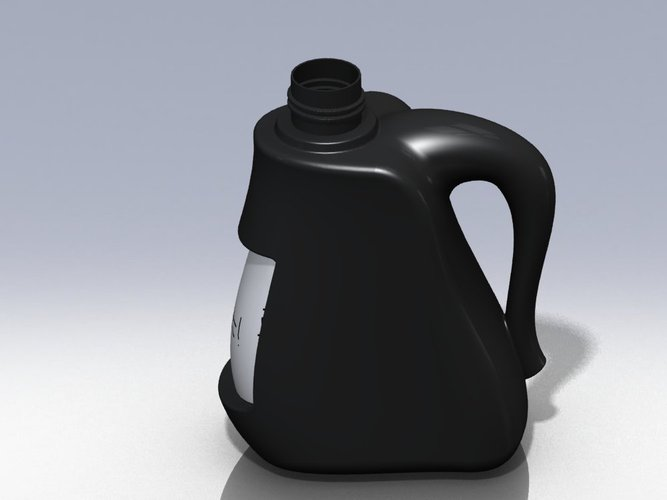 Plastic Jerry Can 3D Print 38452