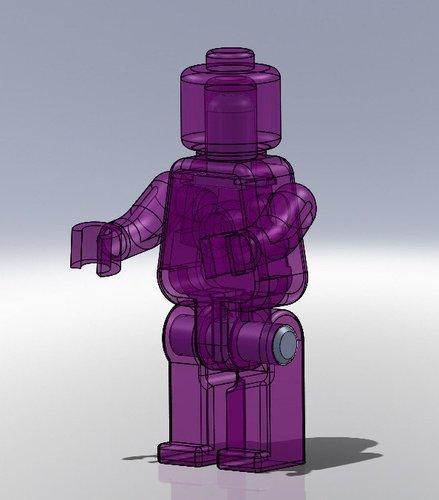 Movable Mini Figure 3D Print 38488
