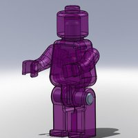 Small Movable Mini Figure 3D Printing 38488