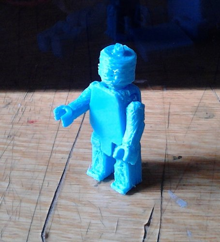 Movable Mini Figure 3D Print 38489