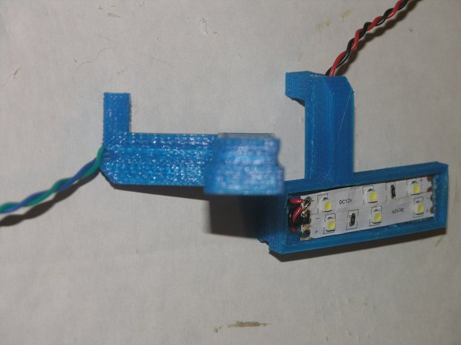 <<< REVISED >>>LED Service light 3D Print 38532