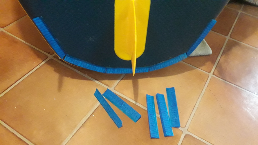 Inflatable SUP planing kit. 3D Print 385735
