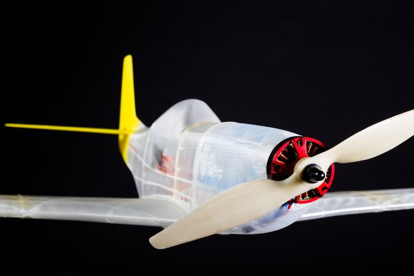 Medium RC printable P51-D Mustang 3D Printing 38739
