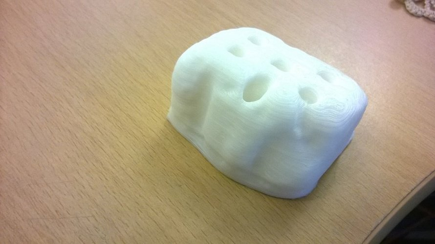 R2-Brick-2 our first test scan and print of our masscot brick 3D Print 38753