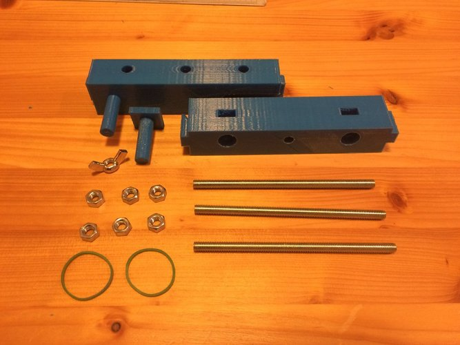 Clamp for carving support 3D Print 38921