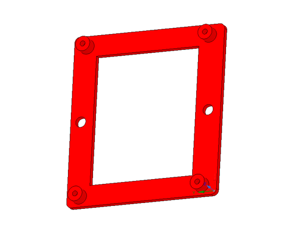 Raspberry Pi 2 wall mount 3D Print 38981