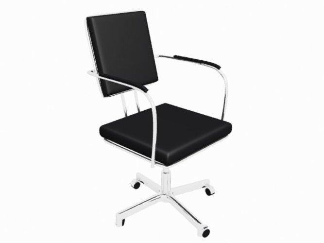 Art deco office chair Stylish Art Decothemed Office Chair 3d Print 39031 Pinshape 3d Printed Art Decothemed Office Chair By Aaroninclub Pinshape
