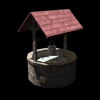 Small An old well 3D Printing 39040