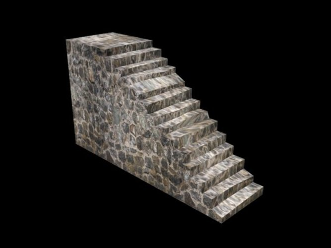 Very old stairs! 3D Print 39044