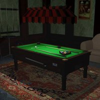 Small A Pool Table 3D Printing 39054