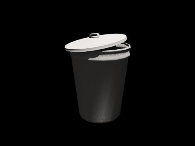 A trash can 3D Print 39067