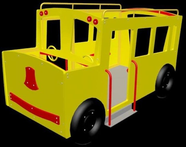 Kiddy Ride 3D Print 39101